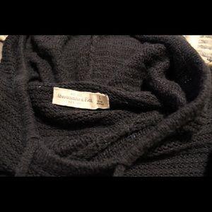 Hooded Crochet Sweater